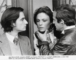 photo 4/8 - Jean-Pierre Leaud, Jacqueline Bisset et François Truffaut - La Nuit américaine - © Swashbuckler Films