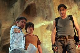 photo 17/61 - Eric Brevig, Brendan Fraser, Josh Hutcherson - Voyage au centre de la Terre 3D - © Métropolitan Film