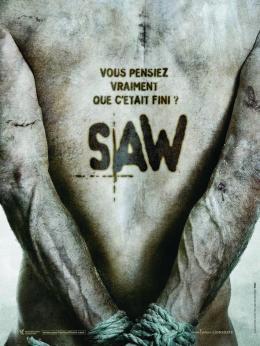 photo 21/23 - Affiche Teaser Fran�aise - Saw 5 - © M�tropolitan Film