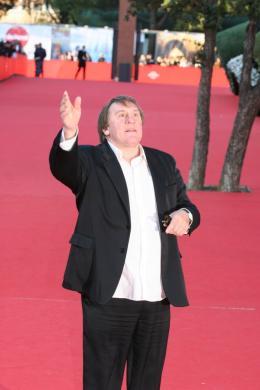 photo 203/284 - Tapis rouge du Festival de Rome 2007 - Gérard Depardieu - © Isabelle Vautier pour Commeaucinema.com 2007