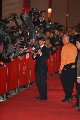 photo 209/402 - Tapis rouge du film Lions et Agneaux - Festival de Rome 2007 - Tom Cruise - © Isabelle Vautier pour Commeaucinema.com 2007
