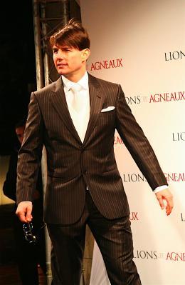 photo 208/402 - Tom Cruise - Tapis rouge du Film Lions et Agneaux à Paris, octobre 2007 - Tom Cruise - © Arthur Azoulay pour Commeaucinema.com 2007