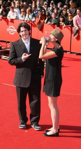 Diablo Cody Avec Jason Reitman (Prix du Meilleur Film pour Juno - Tapis rouge du palmarès du Festival de Rome 2007 photo 8 sur 9