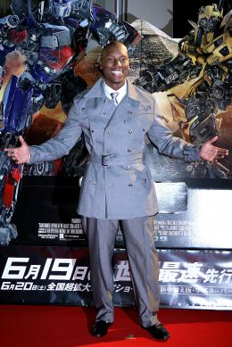 photo 56/113 - Tyrese Gibson - Avant-premi�re � Tokyo (Juin 2009) - Transformers 2 : La Revanche - © Paramount