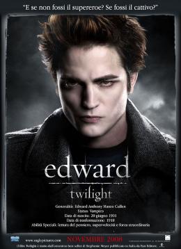photo 55/64 - Affiche italienne - Twilight - Chapitre 1 : Fascination - © SND