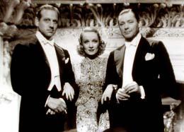 Ange Melvyn Douglas, Marlene Dietrich, Herbert Marshall photo 3 sur 4