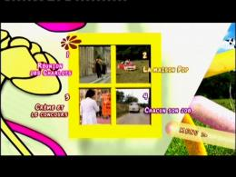 Les bidasses en folie menu Dvd photo 2 sur 2