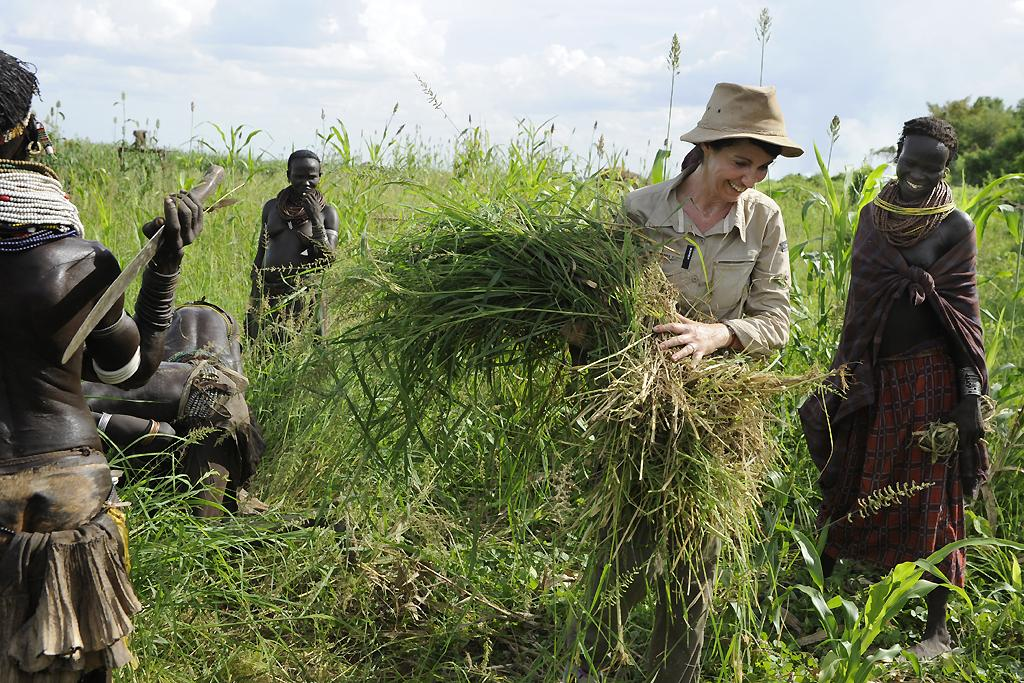 Zabou Breitman chez les Nyangatom