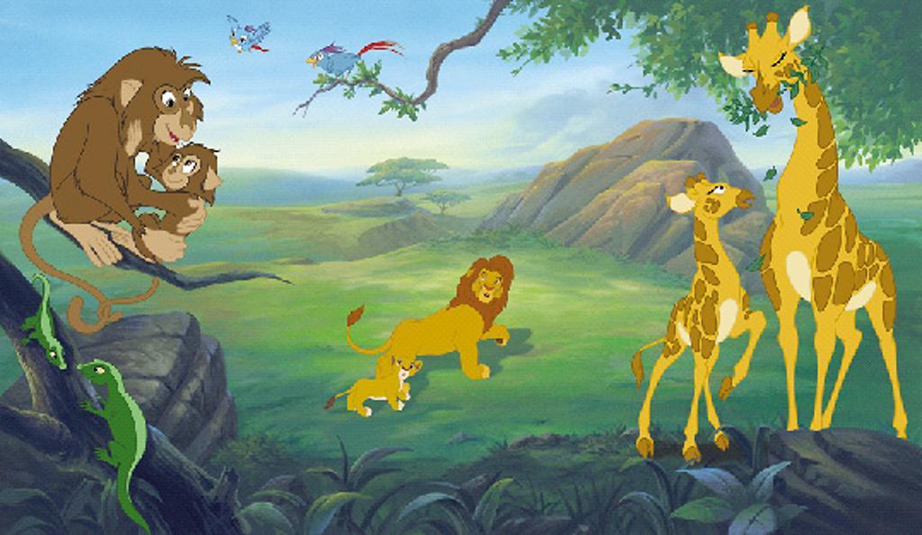 Photos 1 19 le roi lion 2 l 39 honneur de la tribu comme - Voir le roi lion ...