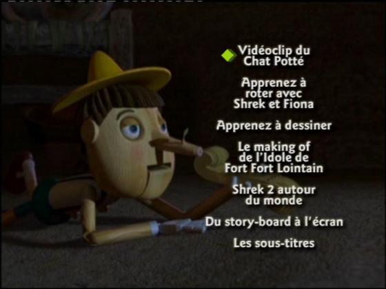 Shrek 2 Dvd Menu Home Sweet Home