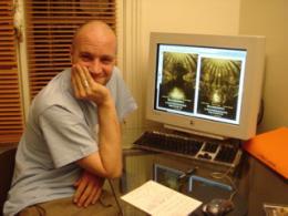 photo 14/21 - Cr�ation d'affiche avec Jan Kounen � l'Agence Donald Simpson - Blueberry