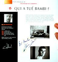 Gilles Marchand Qui a tué Bambi ? photo 9 sur 9