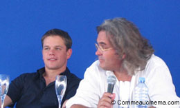 photo 14/18 - Conférence de presse - Festival de Deauville 2004 - La mort dans la peau