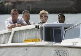 Un crime dans la tête Présentation du Film au Festival de Venise - 2 septembre 2004 photo 1 sur 37