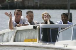 Un crime dans la tête Présentation du Film au Festival de Venise - 2 septembre 2004 photo 4 sur 37