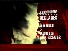 Un Crime dans la tête Menu Dvd photo 1 sur 2