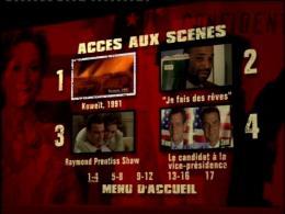 Un Crime dans la tête Menu Dvd photo 2 sur 2