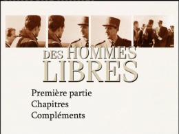 photo 1/1 - Menu Dvd - Des hommes libres – Une histoire de la France libre par ceux qui l'on faite