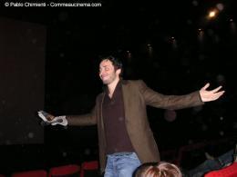 16ème Festival du Film d'Action et aventures de Valenciennes Michael Cohen, présentation au public photo 7 sur 14