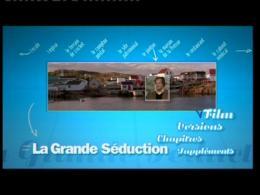La grande séduction Menu Dvd photo 8 sur 9