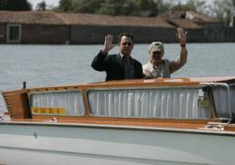 photo 25/56 - Pr�sentation du Film au Festival de Venise - 1er septembre 2004 - Le Terminal