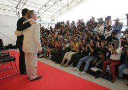 photo 35/56 - Pr�sentation du Film au Festival de Venise - 1er septembre 2004 - Le Terminal