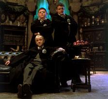 photo 20/29 - Tom Felton et ses compères - Harry Potter et la chambre des secrets