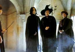 Harry Potter à l'école des sorciers Alan Rickman et Maggie Smith photo 7 sur 22