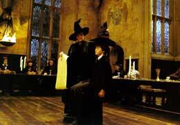 Harry Potter à l'école des sorciers Maggie Smith et Daniel Radcliffe photo 8 sur 22
