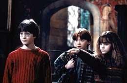 photo 16/22 - Daniel Radcliffe, Rupert Grint et Emma Watson - Harry Potter à l'école des sorciers