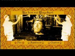 Le bon Roi Dagobert Menu Dvd photo 2 sur 2