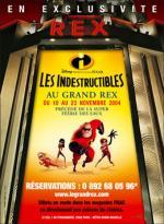 photo 16/40 - Affiche de l'avant-première au Grand Rex - Les Indestructibles