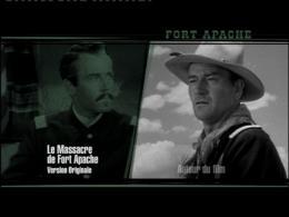 photo 2/3 - Menu Dvd - Le Massacre de Fort Apache