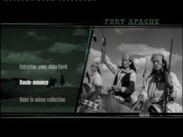photo 3/3 - Menu Dvd - Le Massacre de Fort Apache