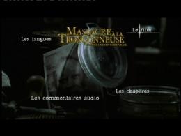 photo 17/17 - Menu Dvd - Massacre � la tron�onneuse