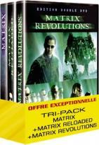 Coffret Matrix : La trilogie Dvd photo 3 sur 3