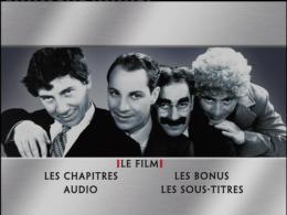 photo 1/2 - Menu Dvd - Monnaie de Singe