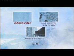 La Mort suspendue Menu dvd photo 5 sur 6