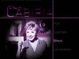 Les Nuits de Cabiria Menu Dvd photo 1 sur 3