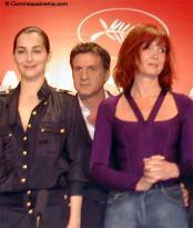 Peindre ou faire l'amour Pr�sentation du film � Cannes le 18 mai 2005 photo 4 sur 9