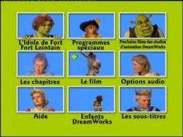 photo 19/21 - Menu Dvd - Shrek 2