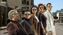 photo 2/13 - Sylvester Stallone, Daryl Sabara, Alexa Vega, Carla Gugino, Antonio Banderas - Mission 3D - Spy Kids 3