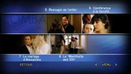Victoire ou la douleur des femmes Menu Dvd photo 2 sur 2