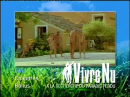 Vivre Nu Menu Dvd photo 1 sur 2
