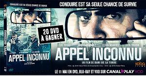 Appel Inconnu (20 dvd � gagner)