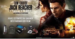 Jack Reacher : Never Go Back (des cadeaux collector � gagner)