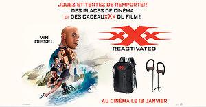 xXx : Reactivated (des paces de ciné et des cadeaux collector à gagner)