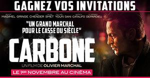Carbone (des places de cinéma à gagner)
