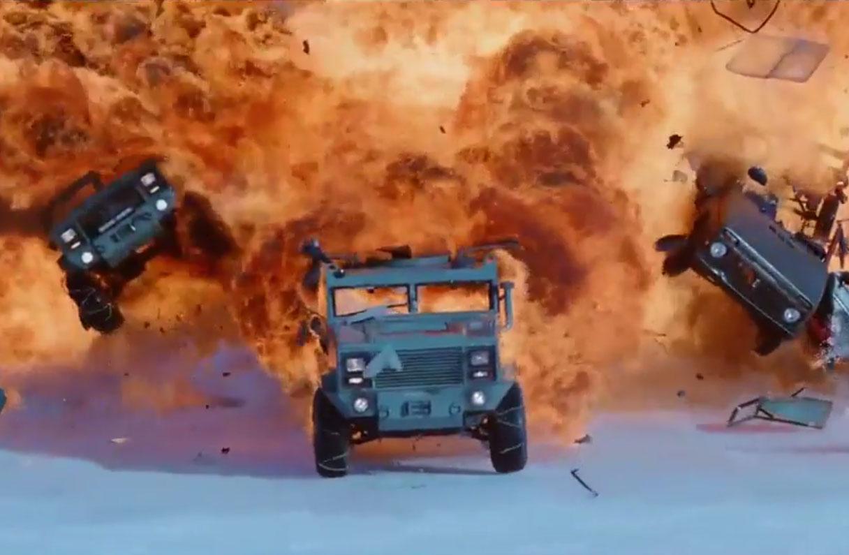 Fast & Furious 8 : un nouveau trailer encore plus fou !