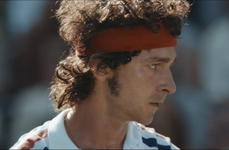 Découvrez Shia Labeouf dans la peau de John McEnroe (vidéo)